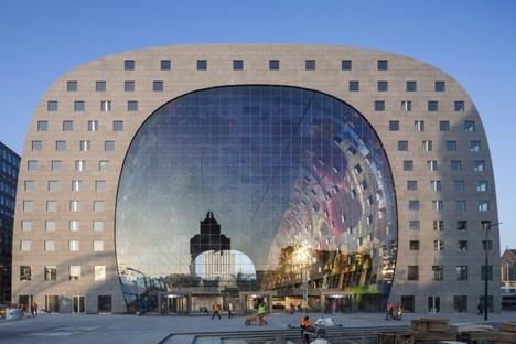MVRDV, Markthal, marché couvert et appartements à Rotterdam