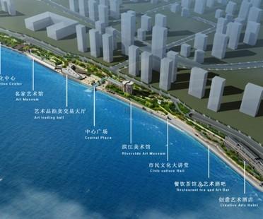 VMCF Atelier, projet parc thématique Cultural Plaza, Chine