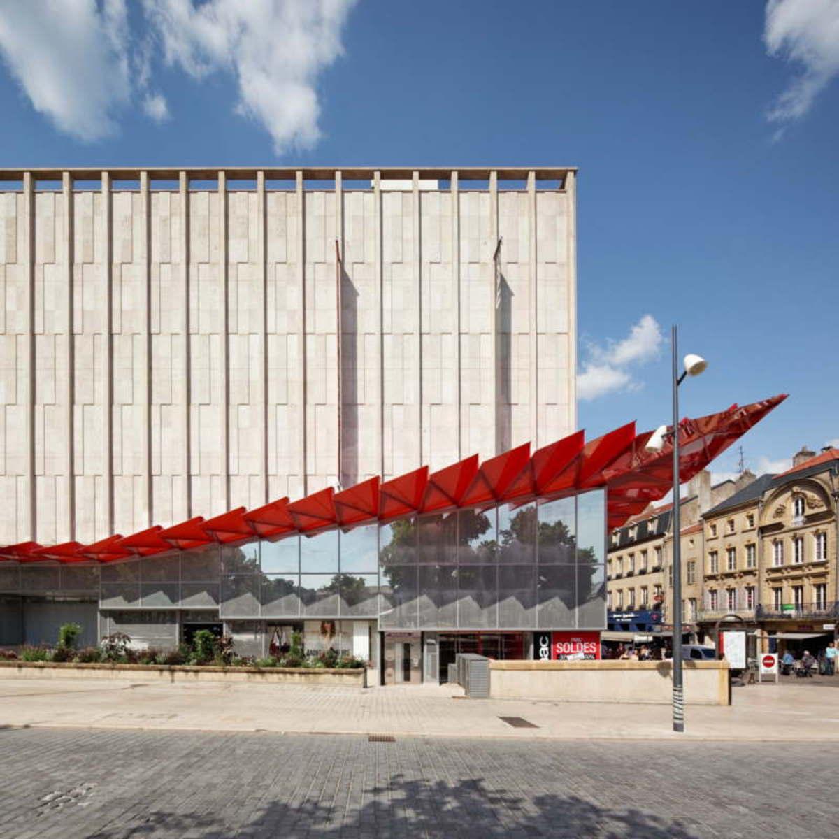 Flooring Stores In Lafayette La: Manuelle Gautrand Nouvelle Facade Des Galeries Lafayette