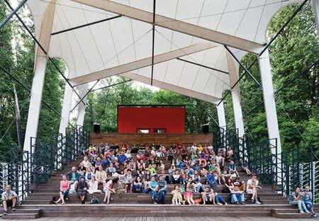 Wowhaus Fili open air cinema Moscow 2014 ph.Iliya Ivanov