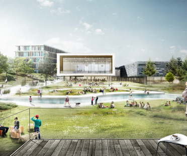 Le projet de C.F.Møller remporte le concours pour l'extension de la CBS