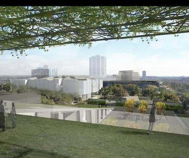 Steven Holl et Lake|Flato Architects pour le Museum of Fine Arts de Houston