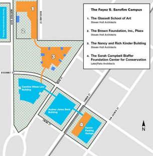 Steven Holl et Lake Flato Architects pour le Museum of Fine Arts de Houston