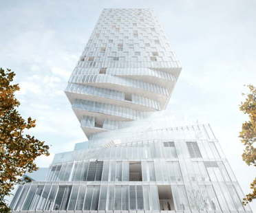 MVRDV remporte la compétition pour la réalisation de la Turm Mit Taille à Vienne