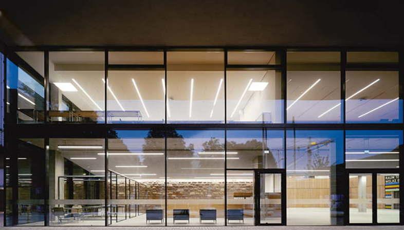 Exposition Between Interior And Exterior Wulf Architekten