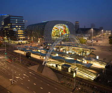 Mvrdv, le Markthal de Rotterdam Meilleur Centre Commercial aux Mipim Awards 2015