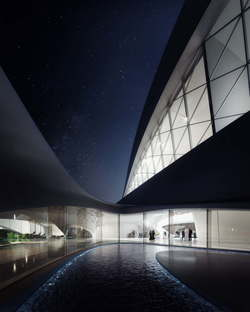 MIR Creative Studios, animation du siège de Bee'ah, Zaha Hadid Architects