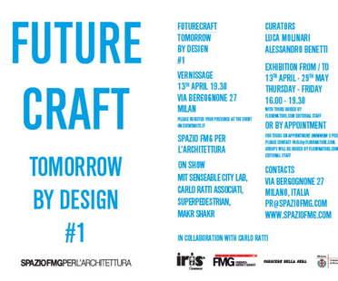 SpazioFMG, Futurecraft, Tomorrow by Design #1