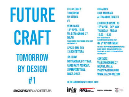 SpazioFMG, Futurecraft, Tomorrow by Design #1