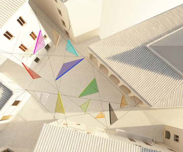 Alvisi Kirimoto + Partners, Piazza Faber, Tempio Pausania, Sardaigne
