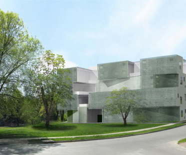 Steven Holl Architects, Arts Building, University of Iowa