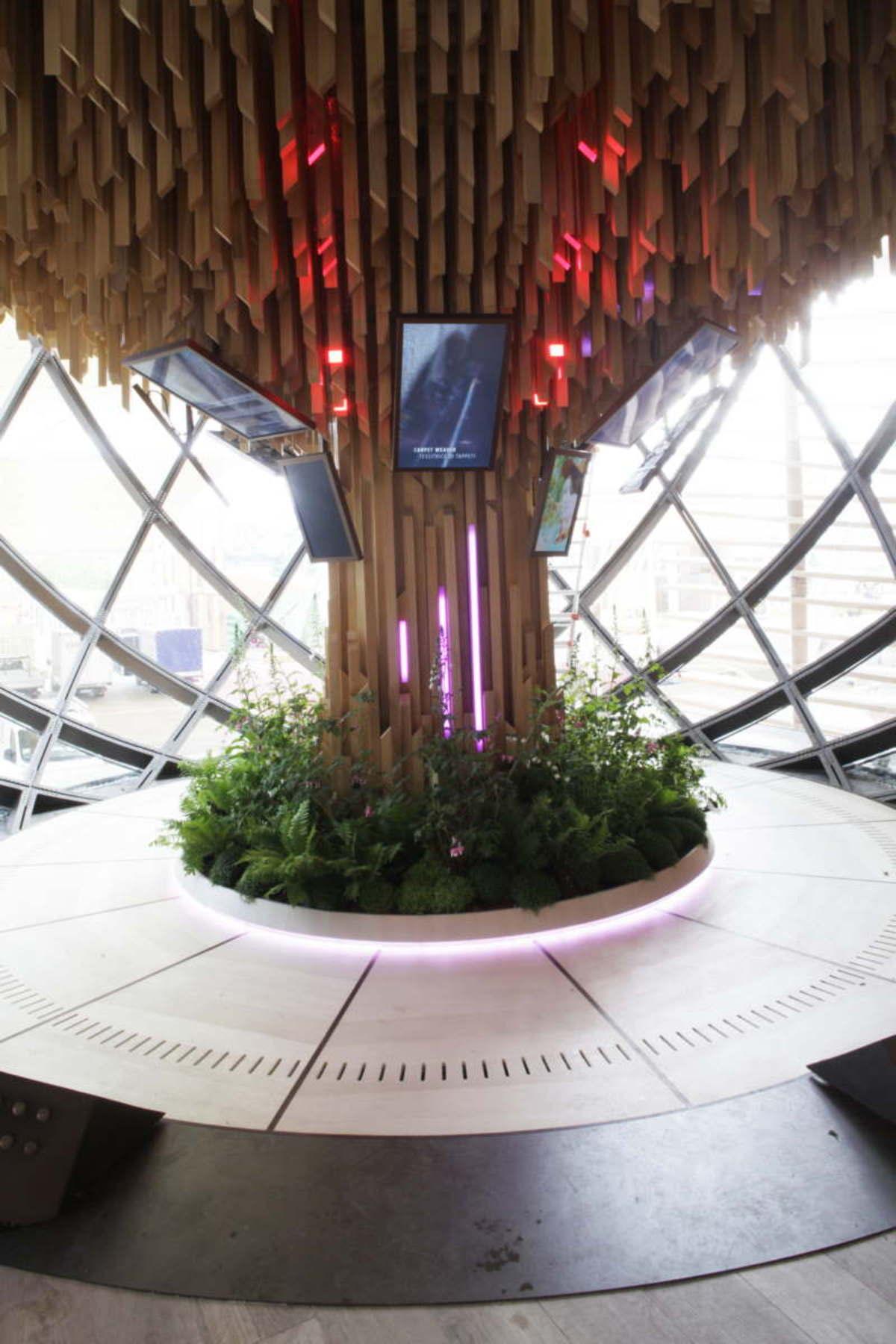 Simmetrico, Pavillon de l'Azerbaïdjan, Expo Milano 2015
