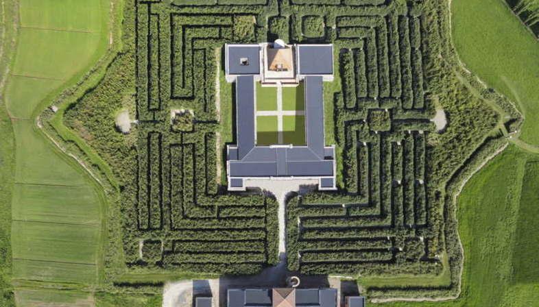 Le Labyrinthe De La Masone 224 Fontanellato Parme Le Plus