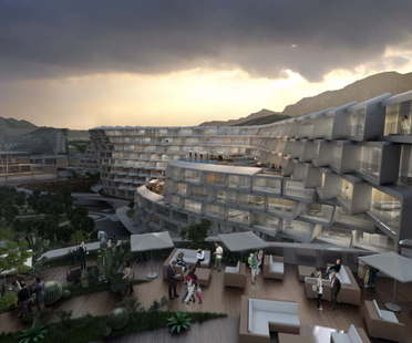Zaha Hadid, Esfera City Center, Monterrey, Mexique
