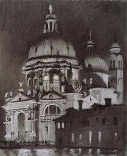 SpazioFMG, Exposition Sergei Tchoban Realtà e Fantasia - Cartoline dall'Italia