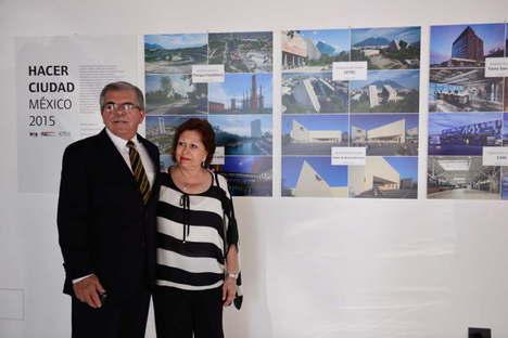 Inauguration de l'Exposition Hacer Ciudad México 2015, SpazioFMG