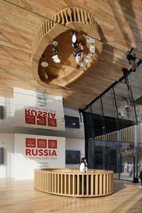 Speech, Sergey Tchoban, Pavillon Russie, Expo Milano 2015