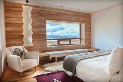 Cazú Zegers, Tierra Patagonia Hotel ou Hotel del Viento, Chili