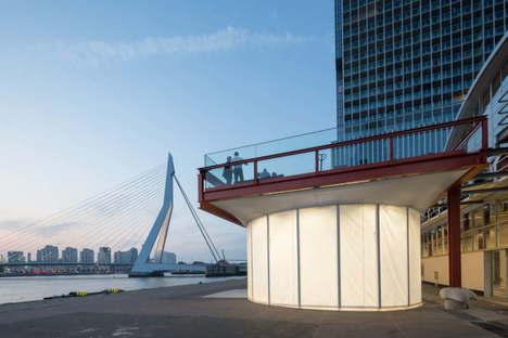 TomDavid Architects, Pop Up Luggage Space, Rotterdam