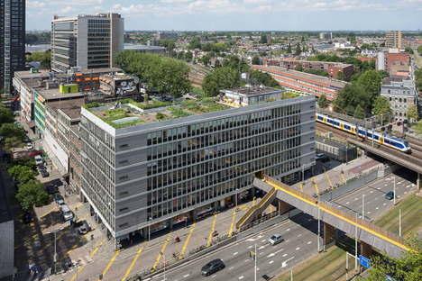 ZUS, La Luchtsingel, Rotterdam, première infrastructure crowdfunding
