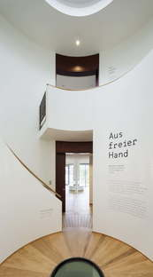 Meinhard von Gerkan gmp inaugure l'exposition Lines of Thought Architecture Pavilion