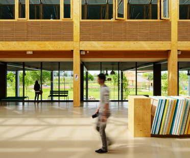 François Leclercq et Associés, Lycée International Nelson-Mandela, Nantes