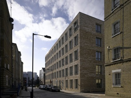 Niall McLaughlin Architects Darbishire Place Peabody Housing Londra