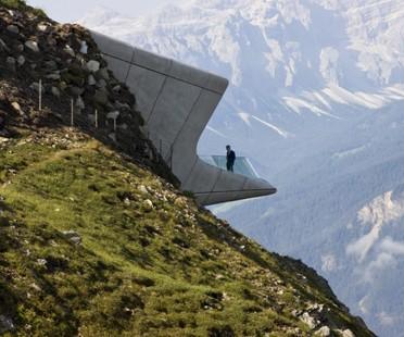 Zaha Hadid Messner Mountain Museum Corones