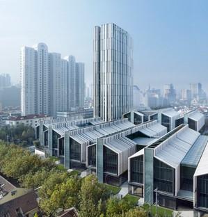 gmp achève le quartier urbain de SOHO Fuxing Lu (Shanghai)