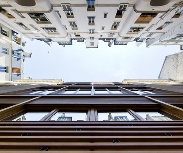 PARC Architectes : nouvelle façade de l'Immeuble Gigogne (Paris)