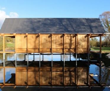 Niall McLaughlin Architects : The Fishing Hut (Hampshire)