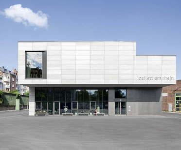 gmp, bâtiment pour la compagnie de ballet de Düsseldorf