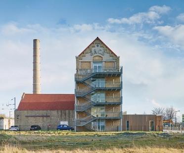 Coldefy CAAU, rénovation et agrandissement d'une ancienne filature, Dunkerque