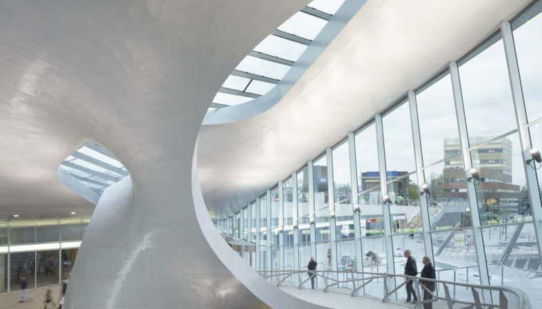 UNStudio, Terminal Transfert, Gare Centrale d'Arnhem