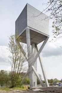 Vplus, Réservoir hydrique - Château d'eau Mons - Ghlin, Belgique
