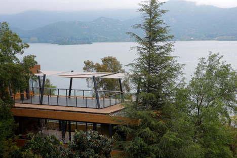 Cazu Zegers : la « Maison en T » de Laguna de Aculeo (Chili)