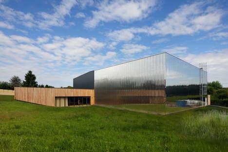 Nomade architectes : complexe scolaire Les Bartelottes à La Ville-du-Bois