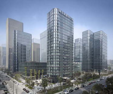 gmp réalise le Dayuan International Center à Chengdu (Chine)