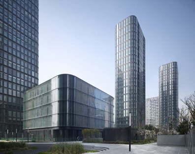 gmp réalise le Dayuan International Center à Chengdu (Chine)