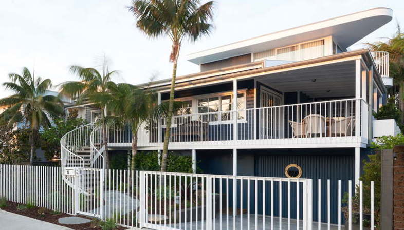 Luigi Rosselli, maison de vacances, Beach House on Stilts