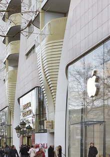 UNStudio, Le Toison d'Or, appartements et commerces à Bruxelles