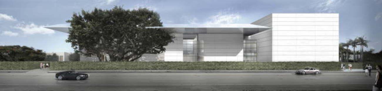 Foster + Partners Norton Museum of Art en Floride début des travaux