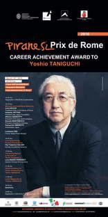 Yoshio Taniguchi remporte le Piranesi Prix de Rome