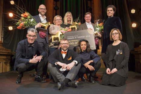 Dorte Mandrup Arkitekter remporte le Prix Träpriset