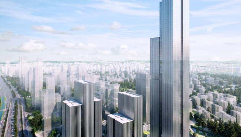 Gmp remporte le concours pour Nanjing Financial City II