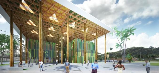 Cardete Huet, Centre Administratif, Campus Universitaire de Cayenne
