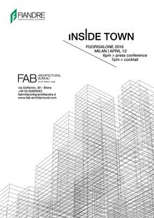 FAB Milano, INSIDE TOWN, Fuorisalone 2016