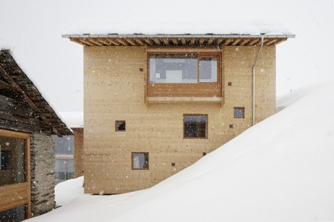 Images courtesy of Peter Zumthor, photo by Ralph Feiner