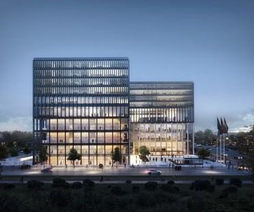 KAAN Architecten remporte le concours pour la New Amsterdam Courthouse