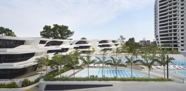 Zaha Hadid Architects d'Leedon Singapore photo by Hufton+Crow